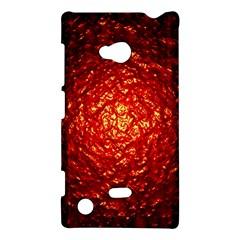 Abstract Red Lava Effect Nokia Lumia 720 by Simbadda