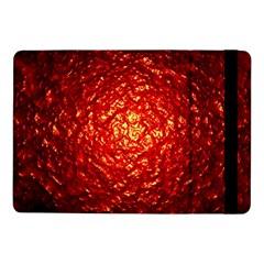 Abstract Red Lava Effect Samsung Galaxy Tab Pro 10 1  Flip Case by Simbadda