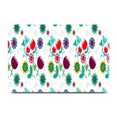 Lindas Flores Colorful Flower Pattern Plate Mats by Simbadda
