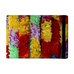 Colorful Hawaiian Lei Flowers Ipad Mini 2 Flip Cases by Simbadda