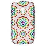 Geometric Circles Seamless Rainbow Colors Geometric Circles Seamless Pattern On White Background Galaxy S3 Mini