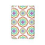 Geometric Circles Seamless Rainbow Colors Geometric Circles Seamless Pattern On White Background iPad Mini 2 Hardshell Cases