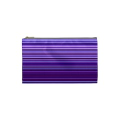 Stripe Colorful Background Cosmetic Bag (small)