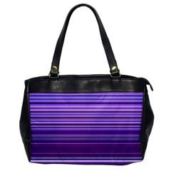 Stripe Colorful Background Office Handbags by Simbadda