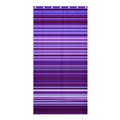 Stripe Colorful Background Shower Curtain 36  X 72  (stall)  by Simbadda