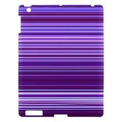 Stripe Colorful Background Apple Ipad 3/4 Hardshell Case by Simbadda