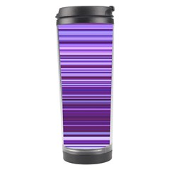 Stripe Colorful Background Travel Tumbler by Simbadda