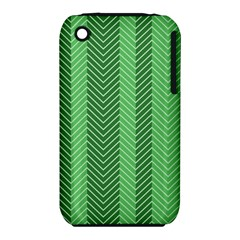 Green Herringbone Pattern Background Wallpaper Iphone 3s/3gs by Simbadda