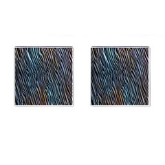 Abstract Background Wallpaper Cufflinks (square) by Simbadda