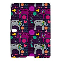 Colorful Elephants Love Background Samsung Galaxy Tab S (10 5 ) Hardshell Case  by Simbadda