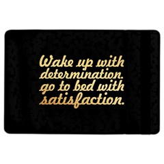 Posterwake Up With Determination      Inspirational Quotes Ipad Air 2 Flip by chirag505p