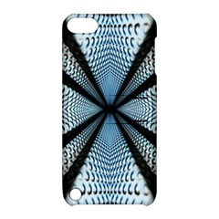 Dimension Metal Abstract Obtained Through Mirroring Apple iPod Touch 5 Hardshell Case with Stand