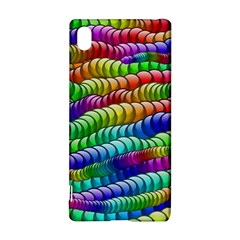 Digitally Created Abstract Rainbow Background Pattern Sony Xperia Z3+