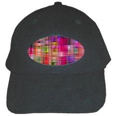 Background Abstract Weave Of Tightly Woven Colors Black Cap by Simbadda
