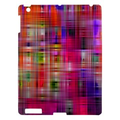 Background Abstract Weave Of Tightly Woven Colors Apple Ipad 3/4 Hardshell Case by Simbadda