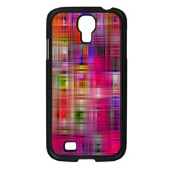 Background Abstract Weave Of Tightly Woven Colors Samsung Galaxy S4 I9500/ I9505 Case (black) by Simbadda