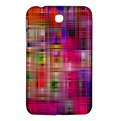Background Abstract Weave Of Tightly Woven Colors Samsung Galaxy Tab 3 (7 ) P3200 Hardshell Case  by Simbadda
