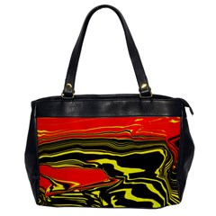 Abstract Clutter Office Handbags by Simbadda