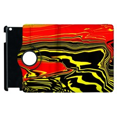 Abstract Clutter Apple Ipad 3/4 Flip 360 Case by Simbadda