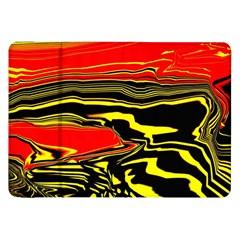 Abstract Clutter Samsung Galaxy Tab 8 9  P7300 Flip Case by Simbadda
