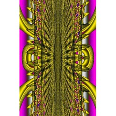 Fractal In Purple And Gold 5 5  X 8 5  Notebooks by Simbadda