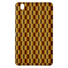 Gold Abstract Wallpaper Background Samsung Galaxy Tab Pro 8 4 Hardshell Case by Simbadda