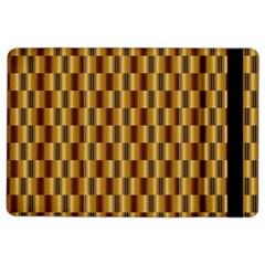 Gold Abstract Wallpaper Background iPad Air 2 Flip by Simbadda