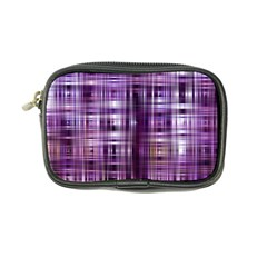 Purple Wave Abstract Background Shades Of Purple Tightly Woven Coin Purse by Simbadda
