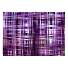 Purple Wave Abstract Background Shades Of Purple Tightly Woven Samsung Galaxy Tab 10 1  P7500 Flip Case by Simbadda