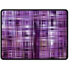 Purple Wave Abstract Background Shades Of Purple Tightly Woven Double Sided Fleece Blanket (large)  by Simbadda