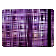 Purple Wave Abstract Background Shades Of Purple Tightly Woven Samsung Galaxy Tab Pro 12.2  Flip Case by Simbadda