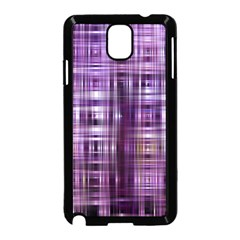 Purple Wave Abstract Background Shades Of Purple Tightly Woven Samsung Galaxy Note 3 Neo Hardshell Case (black) by Simbadda