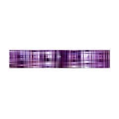Purple Wave Abstract Background Shades Of Purple Tightly Woven Flano Scarf (Mini) by Simbadda