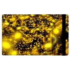 Vortex Glow Abstract Background Apple Ipad 3/4 Flip Case by Simbadda
