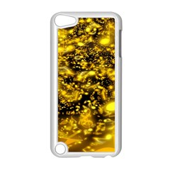 Vortex Glow Abstract Background Apple Ipod Touch 5 Case (white) by Simbadda