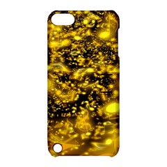 Vortex Glow Abstract Background Apple Ipod Touch 5 Hardshell Case With Stand by Simbadda