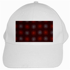 Abstract Dotted Pattern Elegant Background White Cap
