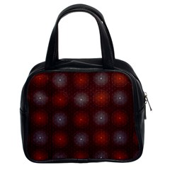 Abstract Dotted Pattern Elegant Background Classic Handbags (2 Sides) by Simbadda