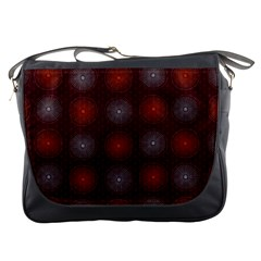 Abstract Dotted Pattern Elegant Background Messenger Bags by Simbadda