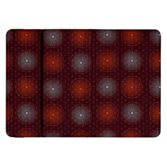 Abstract Dotted Pattern Elegant Background Samsung Galaxy Tab 8 9  P7300 Flip Case by Simbadda
