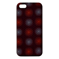Abstract Dotted Pattern Elegant Background Iphone 5s/ Se Premium Hardshell Case by Simbadda