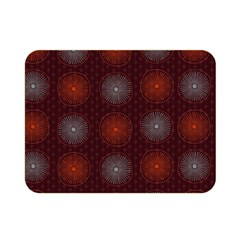 Abstract Dotted Pattern Elegant Background Double Sided Flano Blanket (mini)  by Simbadda