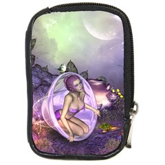 Wonderful Fairy In The Wonderland , Colorful Landscape Compact Camera Cases by FantasyWorld7