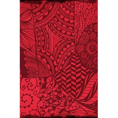 Deep Red Background Abstract 5 5  X 8 5  Notebooks by Simbadda