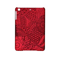 Deep Red Background Abstract iPad Mini 2 Hardshell Cases