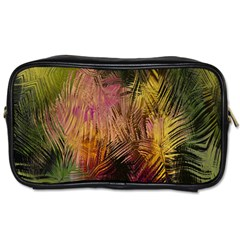 Abstract Brush Strokes In A Floral Pattern  Toiletries Bags 2 Side by Simbadda