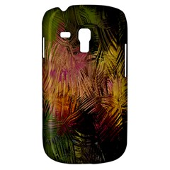 Abstract Brush Strokes In A Floral Pattern  Galaxy S3 Mini by Simbadda