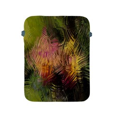 Abstract Brush Strokes In A Floral Pattern  Apple Ipad 2/3/4 Protective Soft Cases by Simbadda