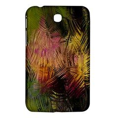 Abstract Brush Strokes In A Floral Pattern  Samsung Galaxy Tab 3 (7 ) P3200 Hardshell Case  by Simbadda