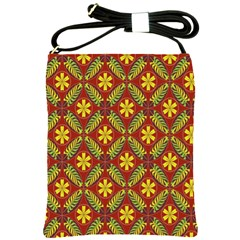 Beautiful Abstract Pattern Background Wallpaper Seamless Shoulder Sling Bags by Simbadda